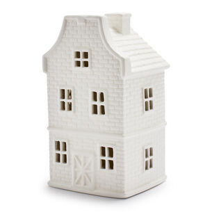 Decorative White Holiday Houses
