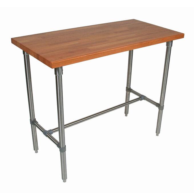 """John Boos & Co. Cherry Cucina Classico Table, 48"""" x 30"""" x 40"""""""
