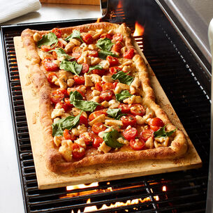 "Sur La Table Cordierite Pizza Stone, 22"" x 13.5"""