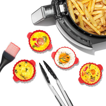 OXO Good Grips Air Fryer Accessories Kit, Set of 6