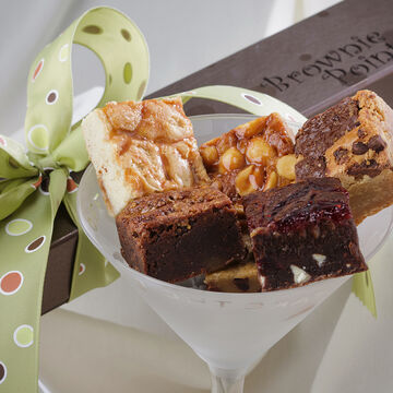 Brownie Points Baby Brownies Half Dozen Gift Box