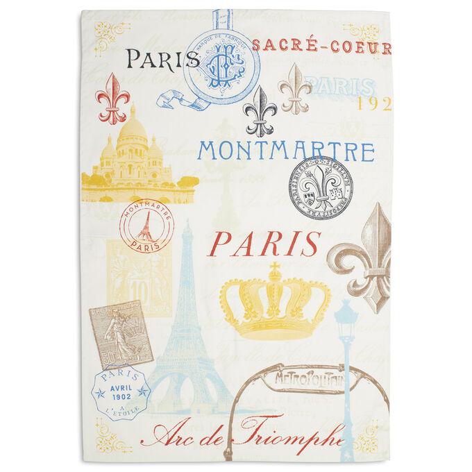 """Vintage Paris Kitchen Towel, 30"""" x 20"""""""