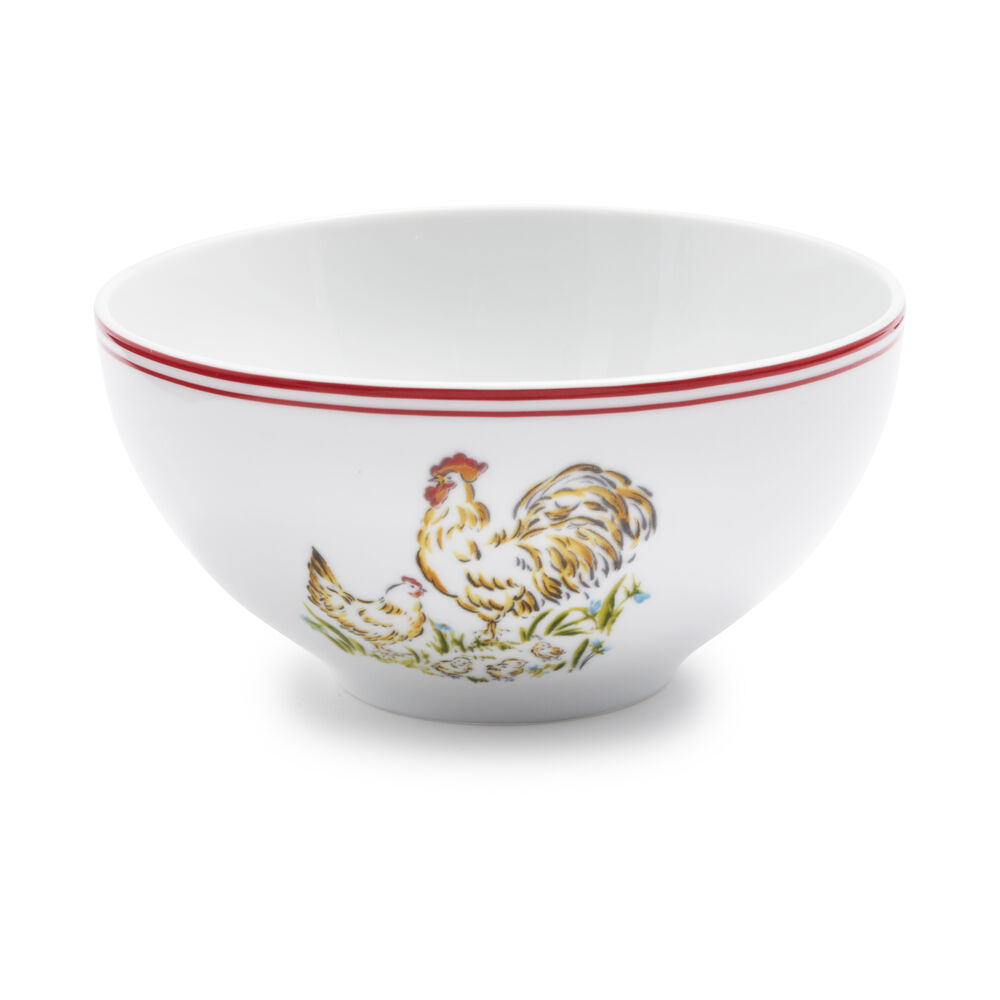 Farmhouse Rooster Cereal Bowl
