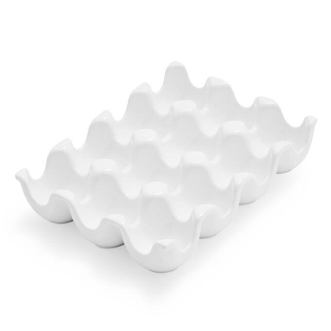 Porcelain Egg Crate
