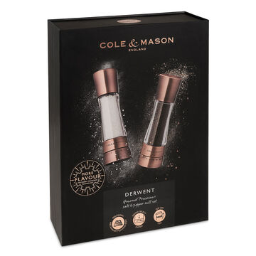 Cole & Mason Derwent Salt and Pepper Grinder Gift Set