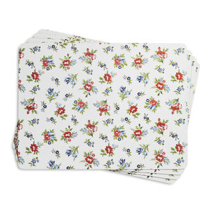 Summerhouse Cork-Backed Placemats, Set of 4