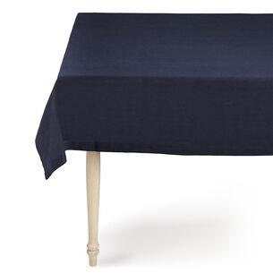Indigo Linen Tablecloth