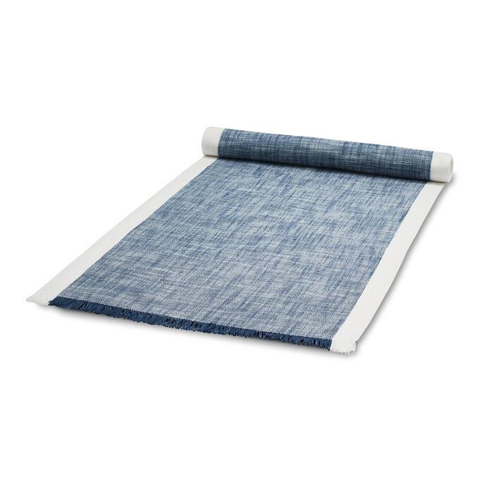"""Blue Chalk Table Runner, 108"""" x 16"""""""