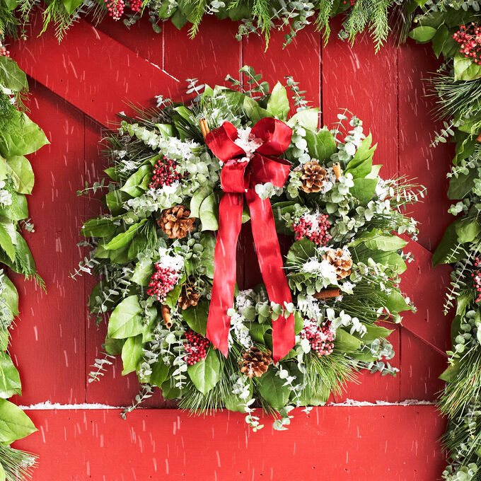 Aromatic Pepperberry Wreaths
