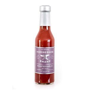 Horseshoe Brand Roasted Garlic Hot Sauce