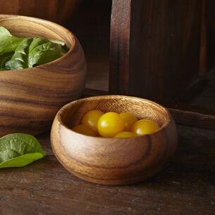 Acacia Wood Appetizer Bowl