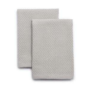 "Organic Cotton Dishcloths, 13"" x 13"", Set of 2"