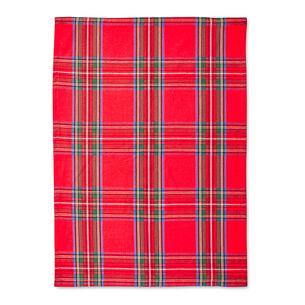 "Christmas Plaid Kitchen Towel, 36"" x 22"""