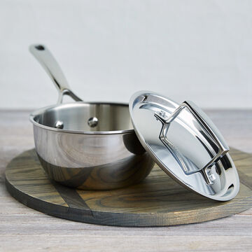 La Marque 84 Stainless Steel Saucepans with Lid