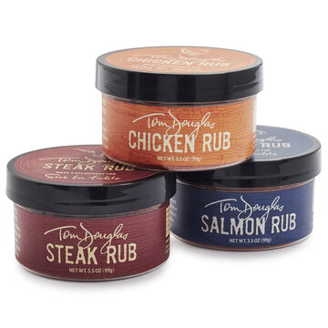 Barbecue Rub Gift Set, Pack of 3