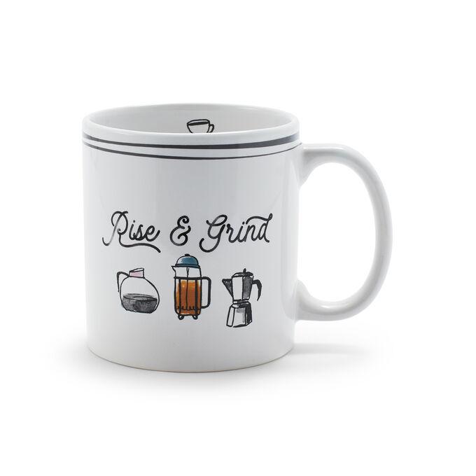 Rise & Grind Mug, 14 oz.