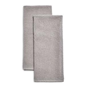 Organic Turkish Cotton Kitchen Towels, Set of 2