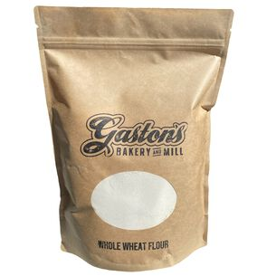 Gaston's Bakery Whole Wheat Flour, 6 Bags