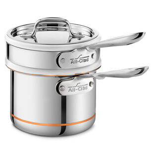 All-Clad Copper Core Double Boiler, 2 qt.