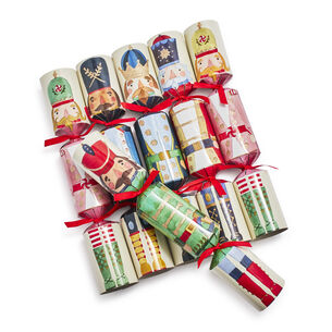 Nutcracker Party Crackers, Set of 6