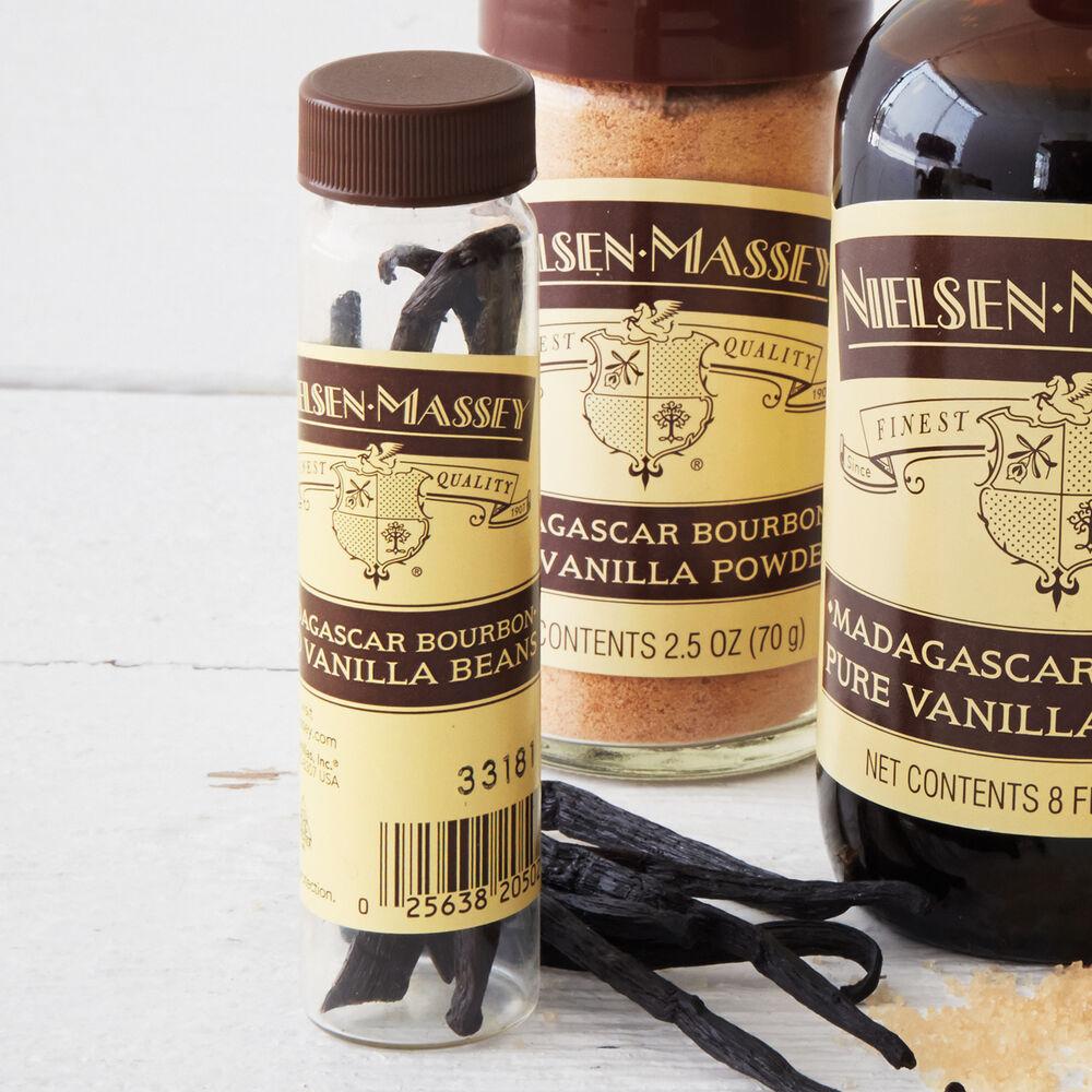 Madagascar Pure Vanilla Beans, Pkg. of 2