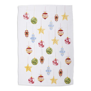 "Ornaments Flour Sack Kitchen Towel, 30"" x 20"""