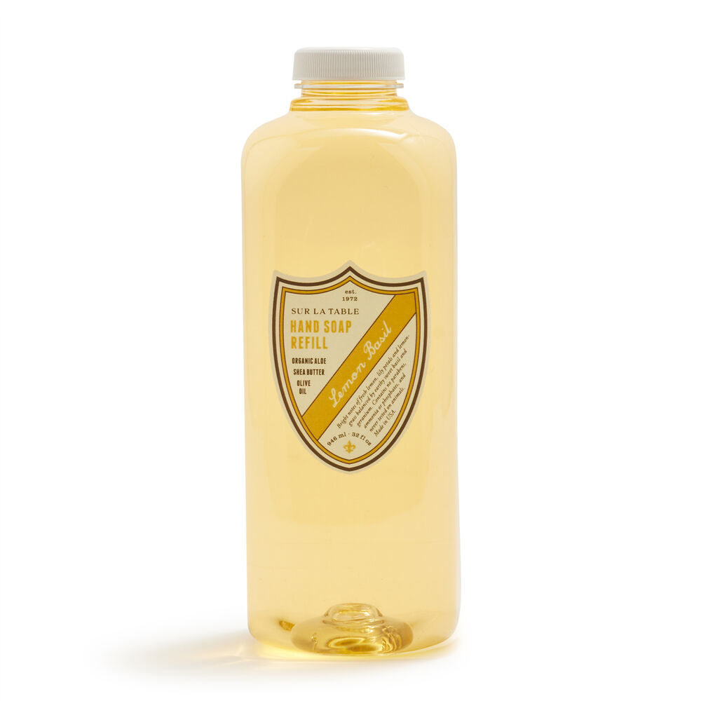 Sur La Table Lemon Basil Hand Soap Refill, 32 oz.