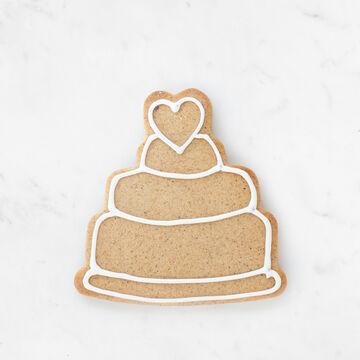 Wedding Cake Cookie Cutter