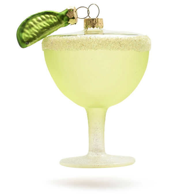 Margarita Glass Ornament