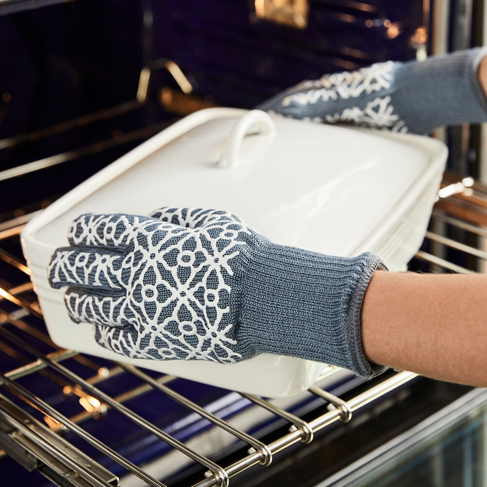 Small Tile Oven Gloves, Set of 2