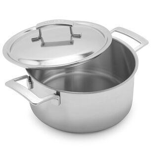 Demeyere Industry5 Dutch Oven with Thermo Lids, 5.5 qt.