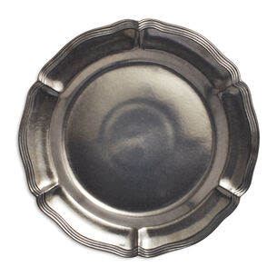 """Pewter Charger, 14"""""""
