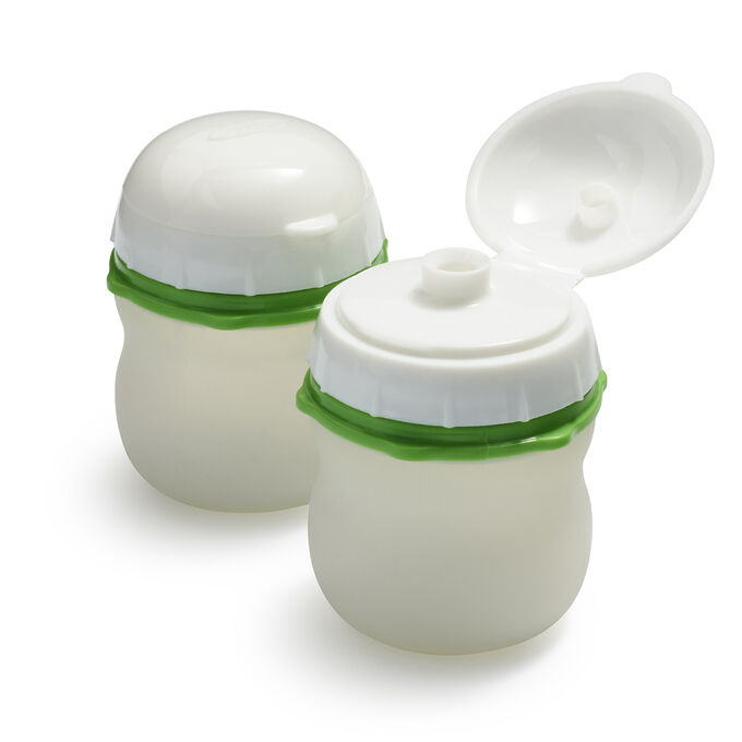 OXO On-the-Go Silicone Squeeze Bottles, Set of Two