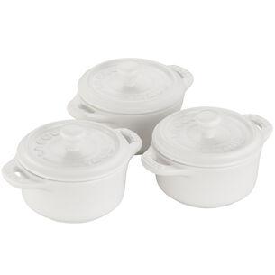 Staub Ceramic Mini Cocottes, Set of 3