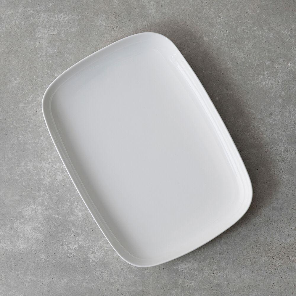 Gourmet Essentials Bone China Rectangular Platter