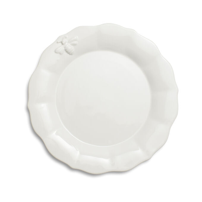 Embossed Bee Salad Plate