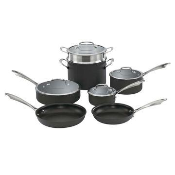 Cuisinart Hard Anodized 11-Piece Cookware Set