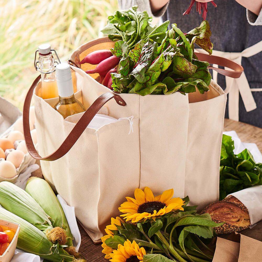 Capabunga 7-Pocket Farmer's Market Tote