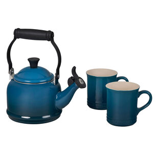 Le Creuset 3-Piece Demi Kettle & Mug Set