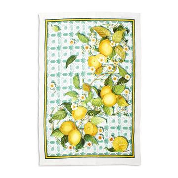 """Lemon Linen Kitchen Towel, 20"""" x 28"""""""
