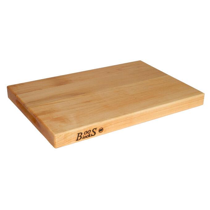 "John Boos & Co. Maple Edge-Grain Cutting Board, 12"" x 18"" x 1½"""