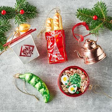 Take Out Box Glass Ornament