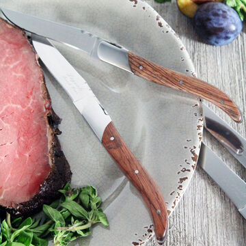 French Home Laguiole Connoisseur Steak Knives, Set of 4