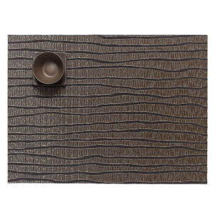 """Chilewich Current Gold Placemat, 19"""" x 14"""""""