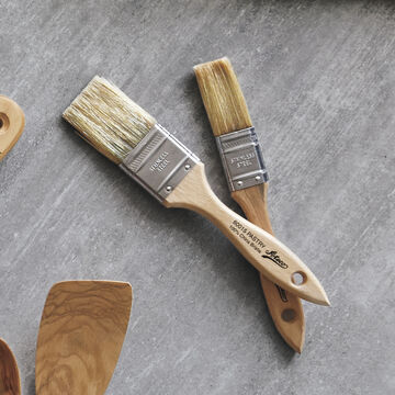 Ateco Natural Boar Bristle Flat Pastry Brush