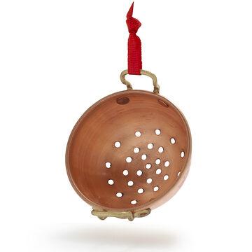 Copper Colander Ornament
