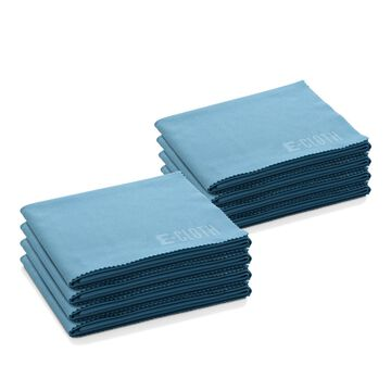 E-Cloth Glass and Polishing Microfiber Cleaning Cloths, Set of 8