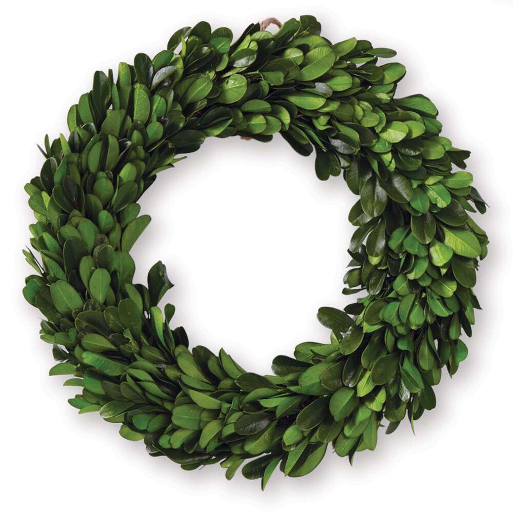 Mini Preserved Boxwood Wreath