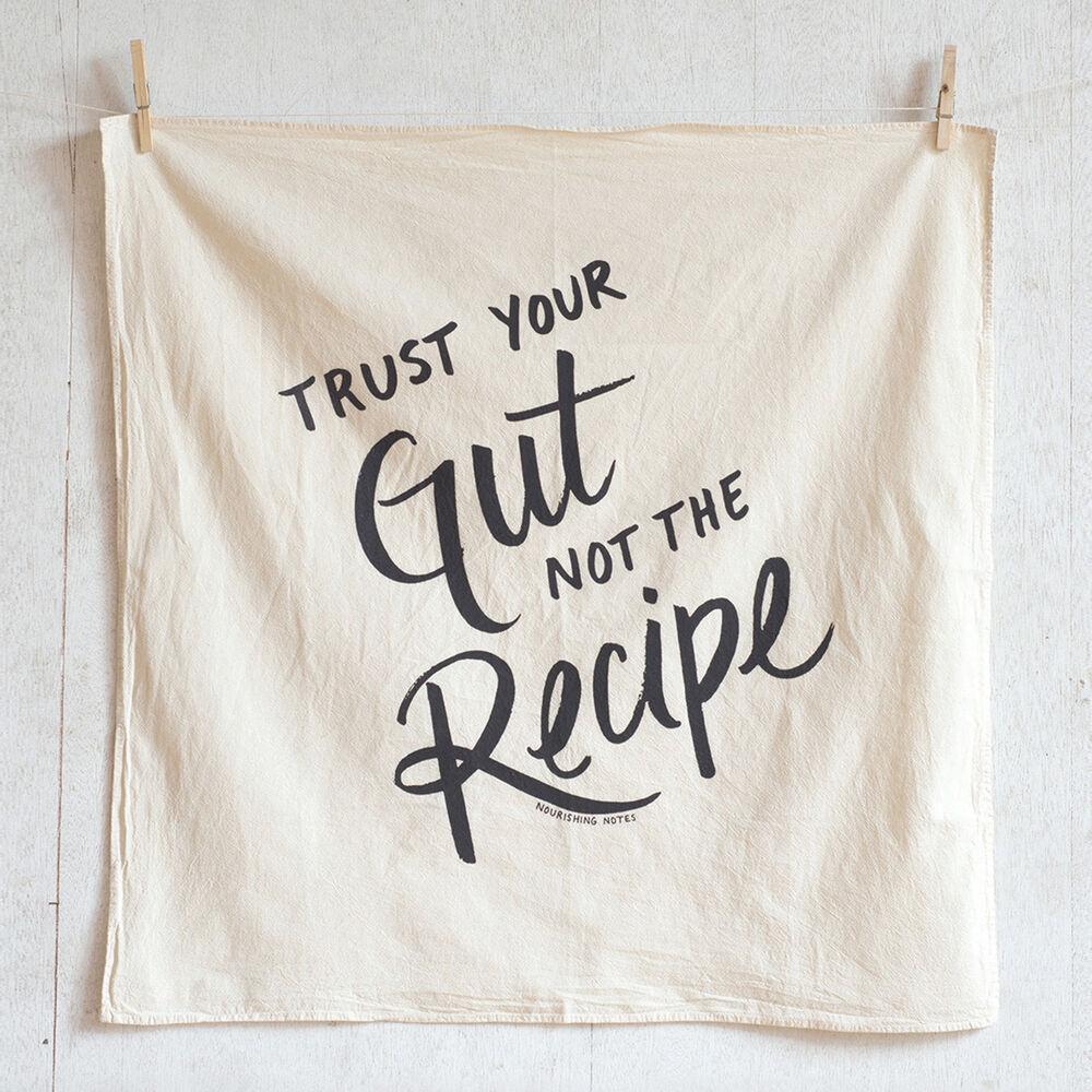 Trust Your Gut Kitchen Towel