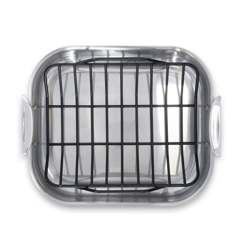 All Clad Stainless Steel Roasting Pan With Nonstick Rack